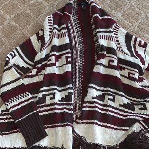 Forever 21 tribal Cardigan